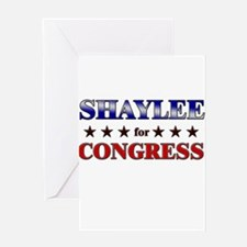 SHAYLEE for congress Greeting Card
