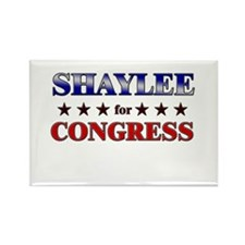 SHAYLEE for congress Rectangle Magnet