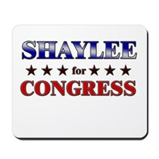 SHAYLEE for congress Mousepad