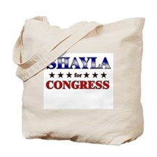 SHAYLA for congress Tote Bag