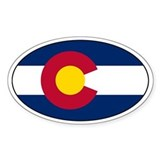 Colorado flag Single