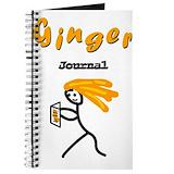 Ginger Journals & Spiral Notebooks