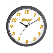 Ginger Clock