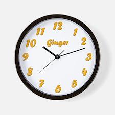 Ginger Clock