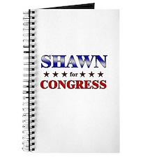 SHAWN for congress Journal