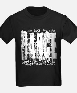 FUNKY DANCE TEXT WHITE TEXT copy T-Shirt
