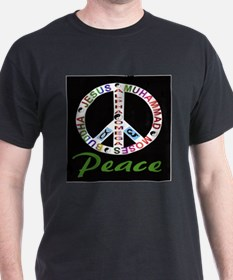 ALPHA OMEGA - PEACE Ash Grey T-Shirt