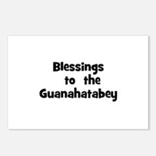 Blessings  to  the  Guanahata Postcards (Package o
