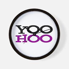 YOOHOO! - PARODY Wall Clock