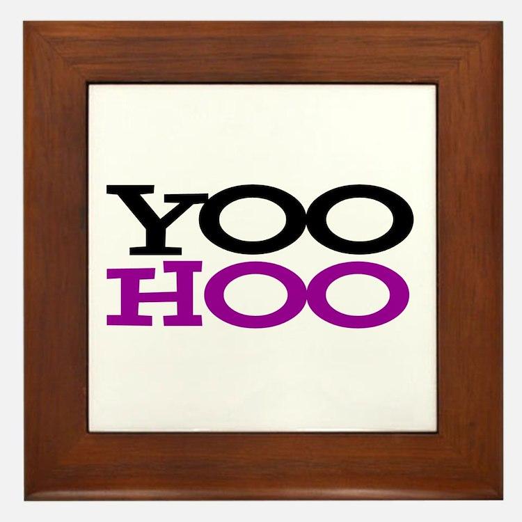 YOOHOO! - PARODY Framed Tile