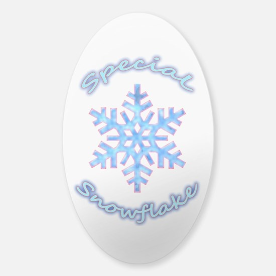 Special Snowflake Decal
