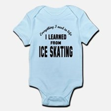 I learned from Ice skating Infant Bodysuit
