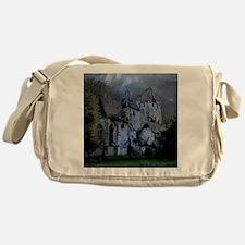 Darkness Halloween Castle Messenger Bag