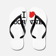 I Love CORINNE Flip Flops