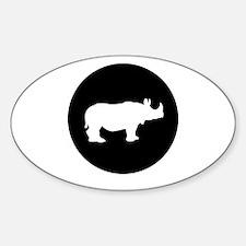 Rhinoceros Decal