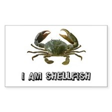 Shellfish Rectangle Decal