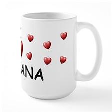 I Love Tatiana - Mug