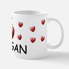 I Love Teagan - Mug