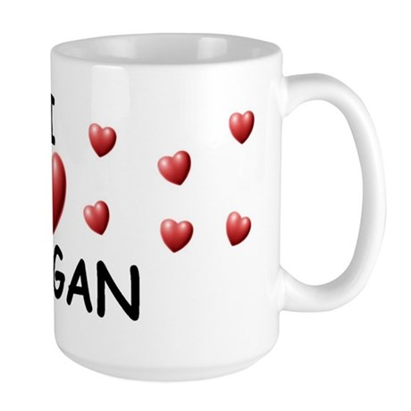 I Love Teagan - Large Mug