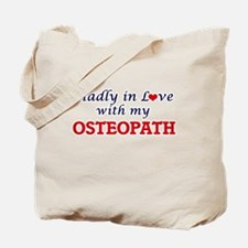 Madly in love with my Osteopath Tote Bag