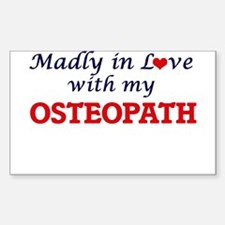 Madly in love with my Osteopath Decal