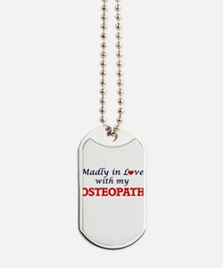 Madly in love with my Osteopath Dog Tags