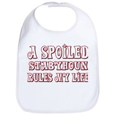 Spoiled Staby Bib