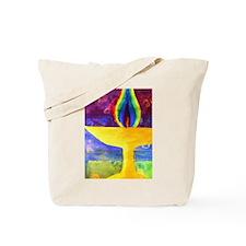 Rainbow Chalice Tote Bag