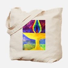 Rainbow Chalice Tote Bag