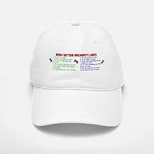 Irish Setter Property Laws 2 Baseball Baseball Cap