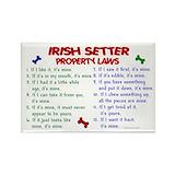 Irish setter Single