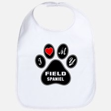 I love my Field Spaniel Dog Bib