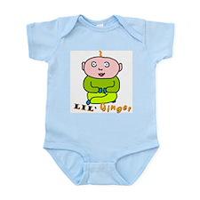 """Lil' Ginger"" Infant Creeper"