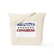 SHANIYA for congress Tote Bag