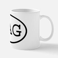 KAG Oval Mug