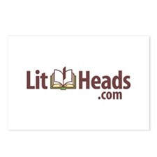 Lit Heads Logo Postcards (Package of 8)