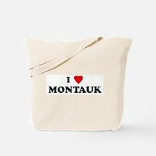 I Love MONTAUK Tote Bag