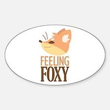 Feeling Foxy Decal