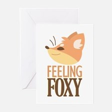 Feeling Foxy Greeting Cards