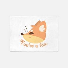 Youre A Fox 5'x7'Area Rug