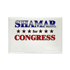 SHAMAR for congress Rectangle Magnet