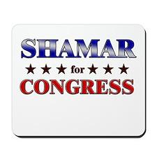 SHAMAR for congress Mousepad