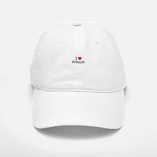 I Love VIVALDI Baseball Baseball Cap