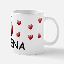 I Love Ximena - Mug