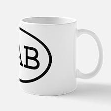 KAB Oval Mug