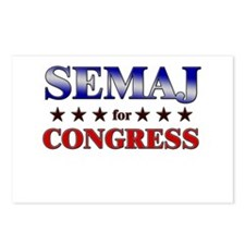 SEMAJ for congress Postcards (Package of 8)