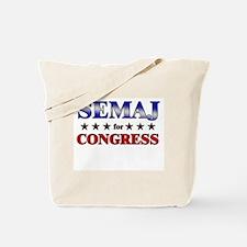 SEMAJ for congress Tote Bag