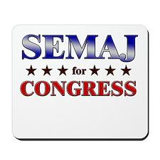 SEMAJ for congress Mousepad