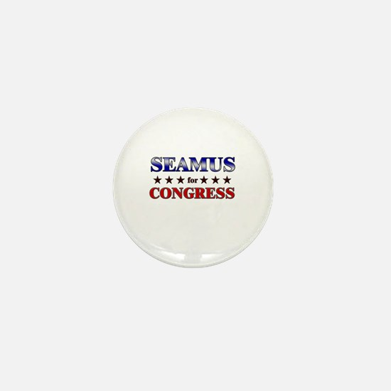SEAMUS for congress Mini Button