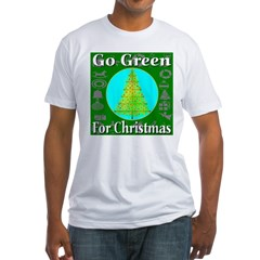 Go Green For Christmas Shirt